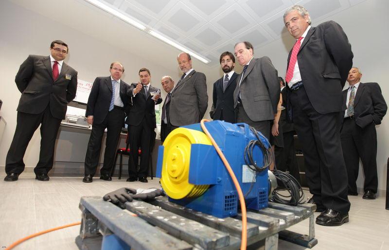 Inauguración del Centro de investigación de Ascensores Zener