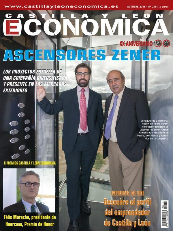 Portada Castilla y León Económica. Octubre 2016 - Nº 245