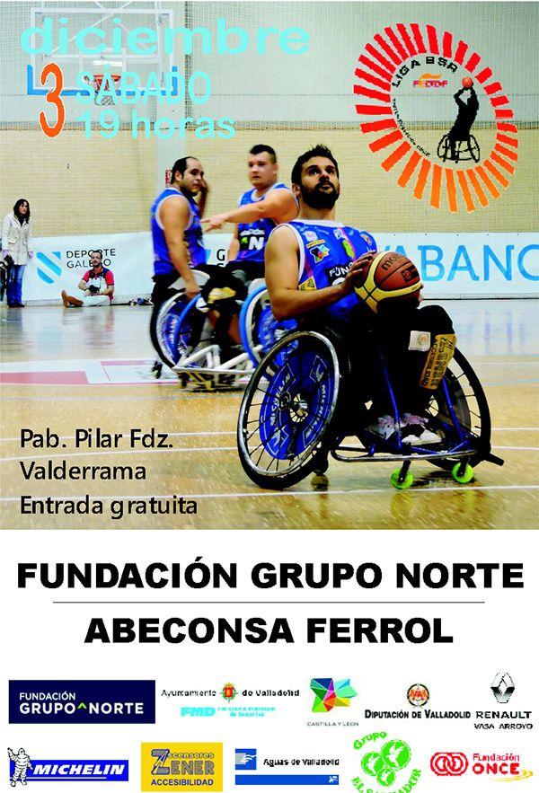 Invitación 7º jornada liga 2016-2017 - BSR Valladolid Fundación Grupo Norte
