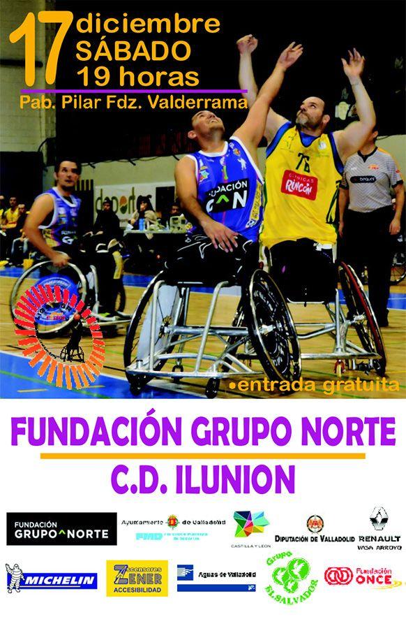 Invitación 9ª Jornada liga 2016-2017 - BSR Valladolid Fundación Grupo Norte