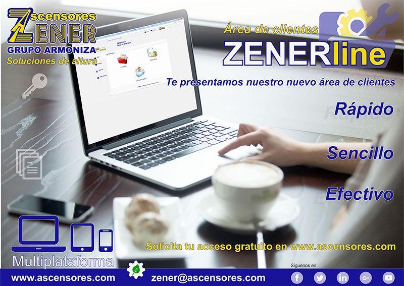 Nueva área de clientes ZENERline