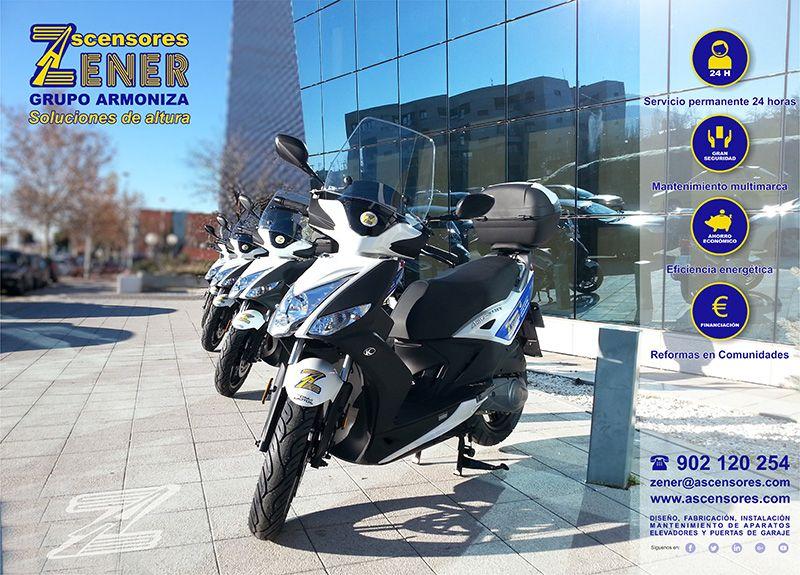 Renovamos nuestro parque de motocicletas en Valladolid