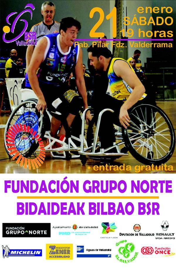 11ª Jornada liga 2016-2017 – BSR Valladolid Fundación Grupo Norte