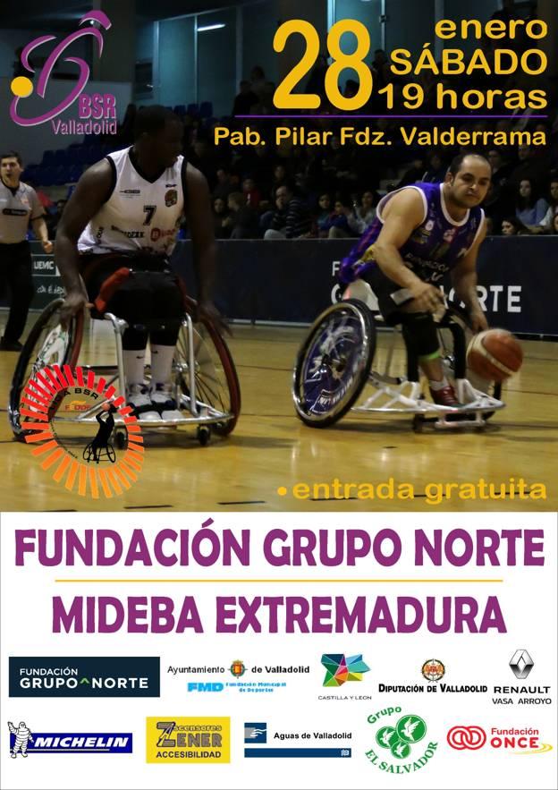 12ª Jornada liga 2016-2017 – BSR Valladolid Fundación Grupo Norte
