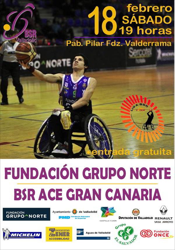 14ª Jornada liga 2016-2017 – BSR Valladolid Fundación Grupo Norte