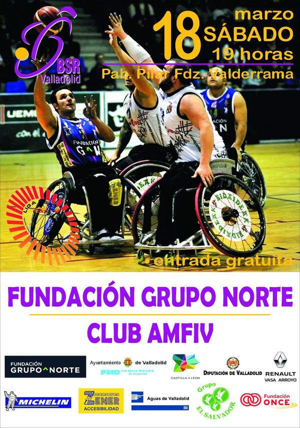 16ª Jornada liga 2016-2017 – BSR Valladolid Fundación Grupo Norte