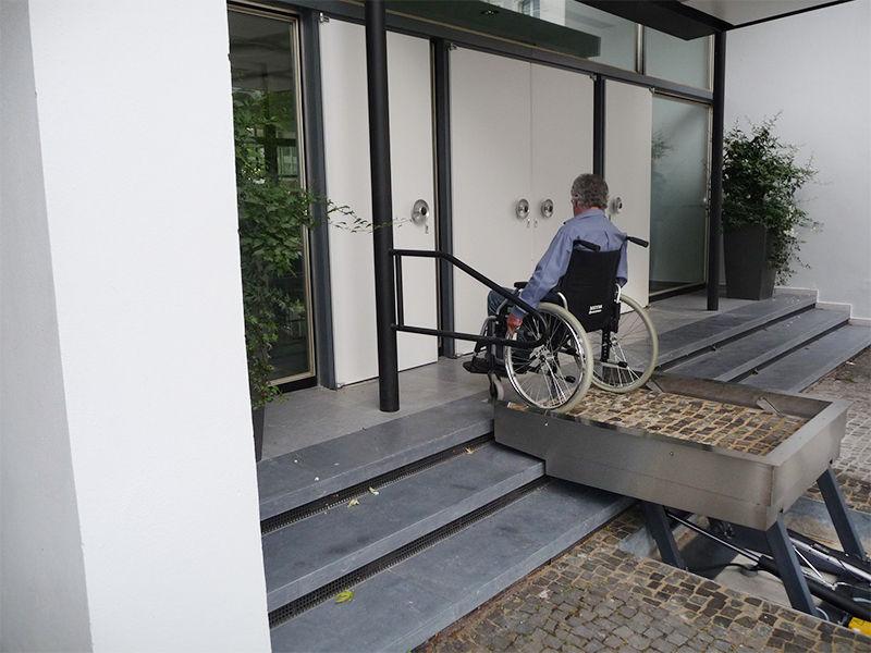 Soluciones de altura en accesibilidad