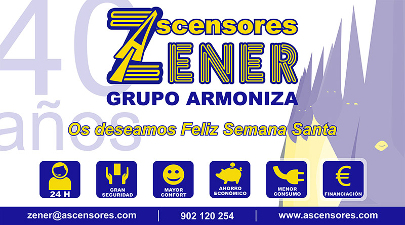 Ascensores Zener - Semana Santa 2017