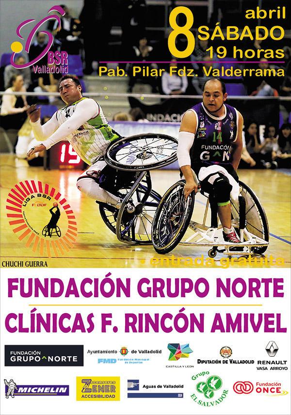 19ª Jornada liga 2016-2017 – BSR Valladolid Fundación Grupo Norte