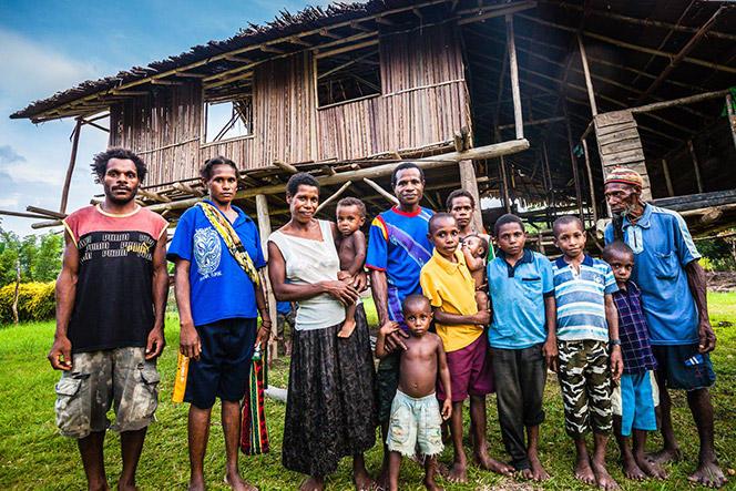 Comunidades nativas dependientes de los bosques de April Salumei