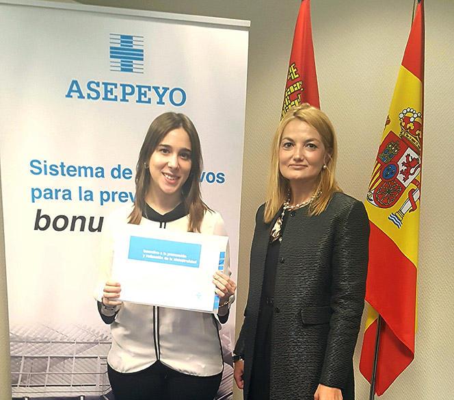 Asepeyo distingue a Ascensores Zener Grupo Armoniza por colaborar en la prevención de la siniestralidad laboral