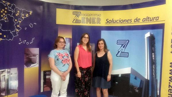 Visita de los integrantes de la Lanzadera Esgueva