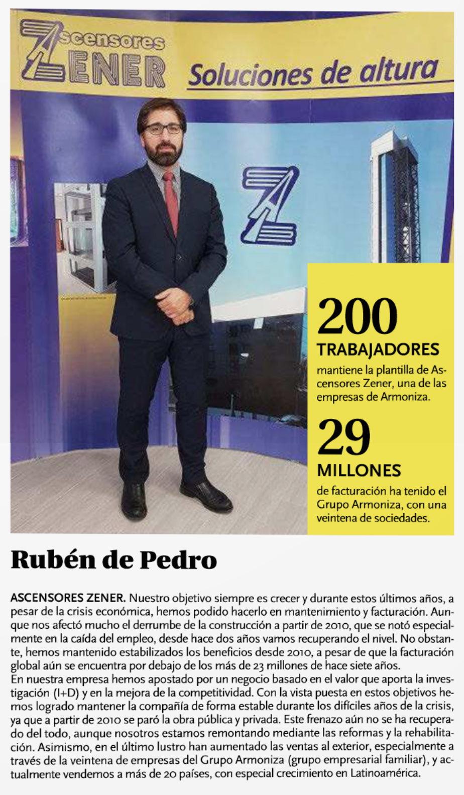 Reseña El Dia de Valladolid - Las empresas de Castilla y León impulsan su crecimiento