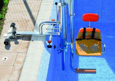 Elevador para piscinas