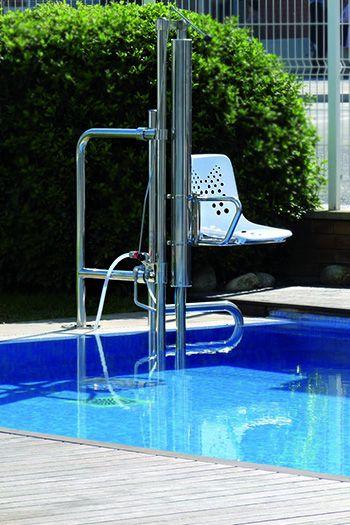 Soluciones de accesibilidad - Elevadores para piscinas