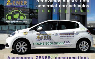 Renovamos nuestra flota comercial con vehículos ecológicos GLP