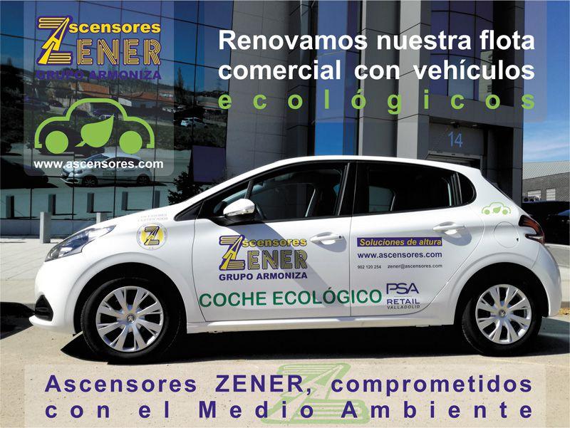 Nueva flota comercial con vehículos ecológicos GLP