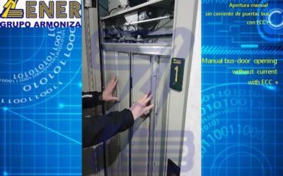 Tutorial Apertura manual puertas BUS Fermator