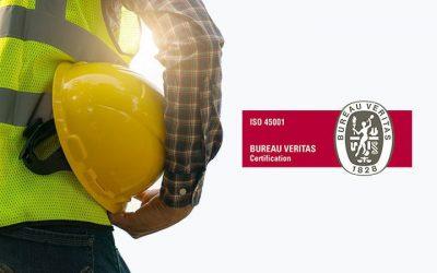 Ascensores Zener ha obtenido la certificación ISO 45001:2018