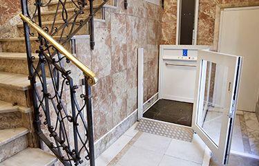 Vectio - Elevador vertical de corto recorrido