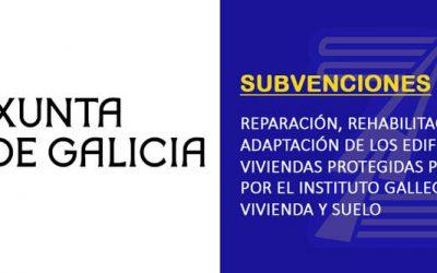 Subvenciones para mejorar la accesibilidad en viviendas protegidas | Xunta de Galicia