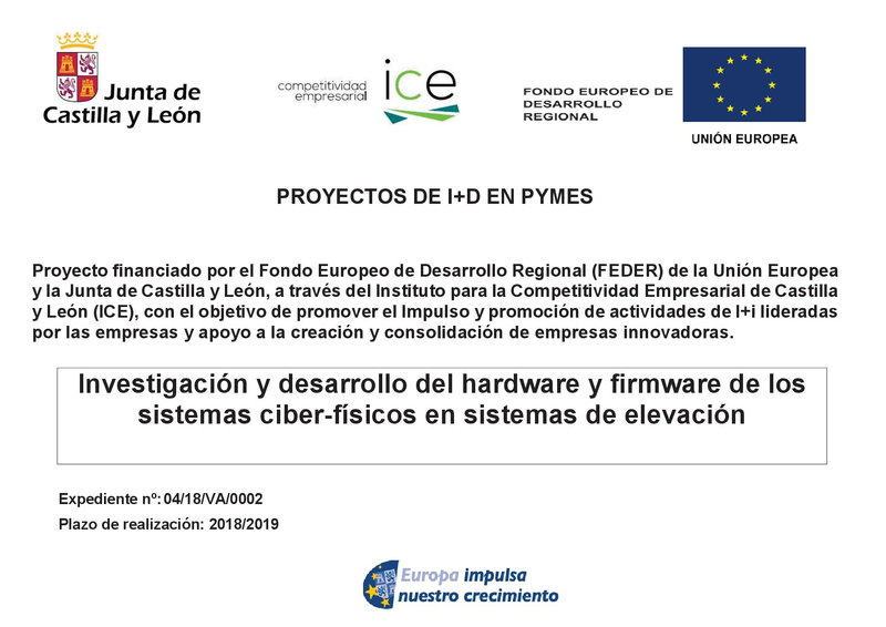 Proyecto I+D Pymes 2019