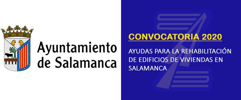 Convocatoria ayudas destinadas a la rehabilitación de edificios Salamanca (2020)