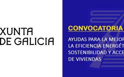 (2020) Ayudas de la Xunta de Galicia. Eficiencia energética y accesibilidad