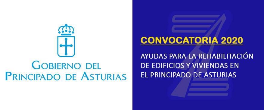 (2020) Convocatoria ayudas rehabilitación de edificios y viviendas del Principado de Asturias