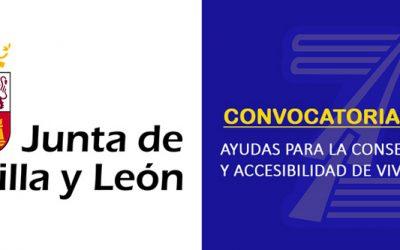 (2020) Ayudas Junta de Castilla y León. Conservación y accesibilidad