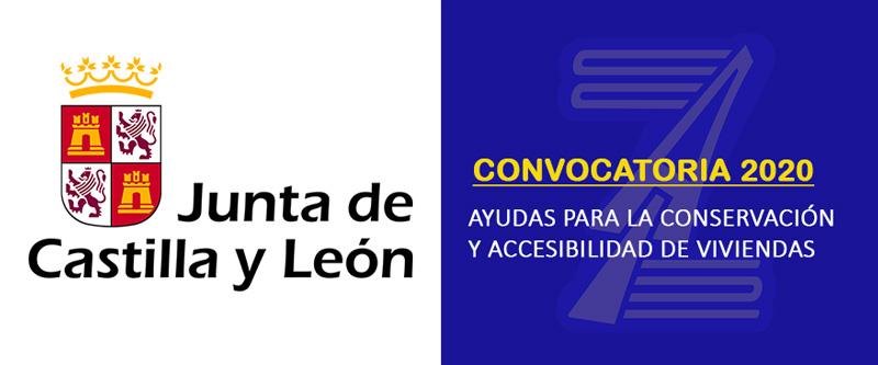 Subvenciones conservación y mejora de la accesibilidad de viviendas - Junta de Castilla y León (2020)