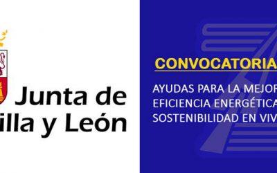 (2020) Ayudas Junta de Castilla y León. Eficiencia energética y sostenibilidad