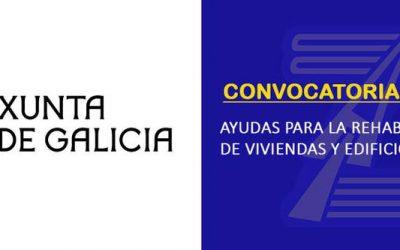 (2020) La Xunta de Galicia convoca ayudas para la rehabilitación de edificios