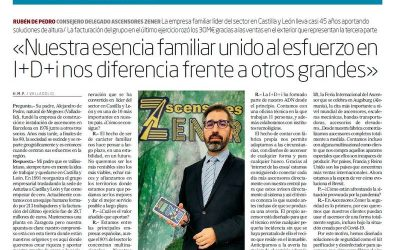 Entrevista en el periódico El Mundo (15/10/2020)