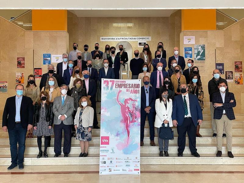 37 Certamen del Empresario del Año otorgado por la Facultad de Comercio de Valladolid
