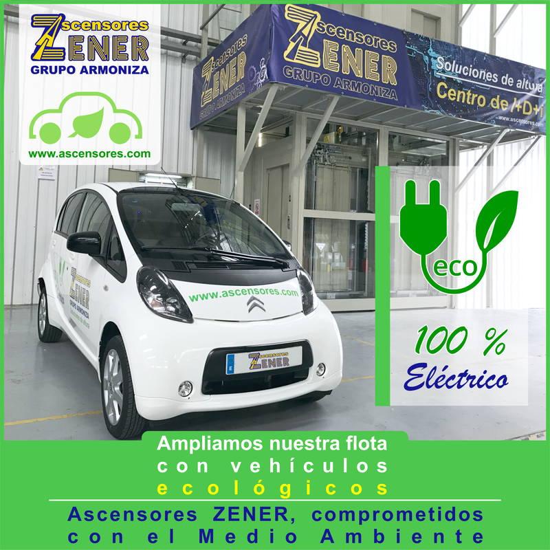 Ampliamos nuestra flota con vehículos ecológicos